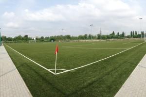 Zertifikat FIFA 2 Star für die Anlage des RKS Garbarnia Krakau