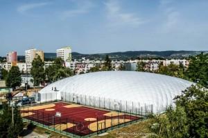 Krosno-Halle – Neue InterHall-Fußballhalle in Krosno