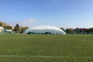 InterHall-Tennishalle auf  den Tennisplätzen des KS Bronowianka